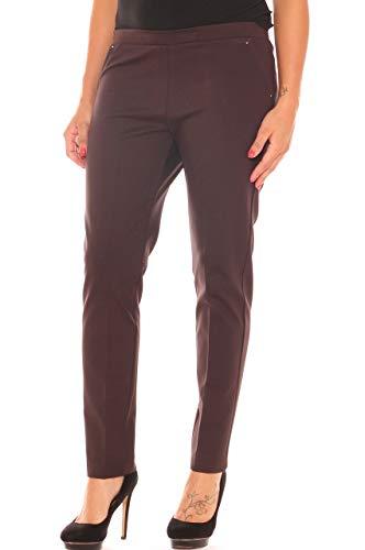 Con Jersey Elastico Pantalone Costa Stretch Donna Emanuela Sigaretta OqpCR4