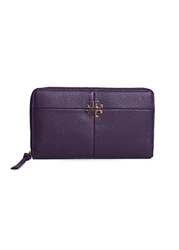 Tory Burch Ivy Continental Wallet in - Purple Tory Burch Bag