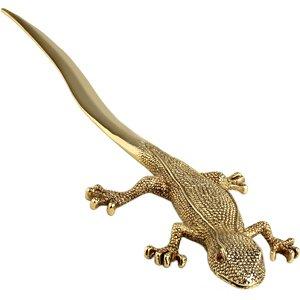 L'Objet Gold-plated Gecko Letter Opener
