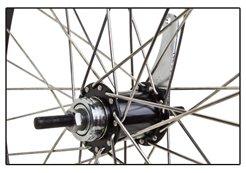 "Flying Horse Heavy Duty 12 Gauge Coaster Brake Rear 26"" x 1.5"" Bicycle Rim Set – Gas Bike HD Rim Upgrade (Black)"