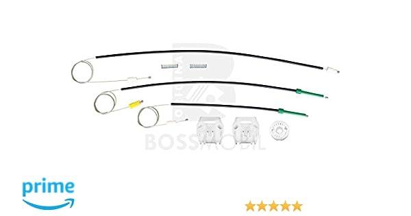 Delantero derecho 9D, 9U kit de reparaci/ón de elevalunas el/éctricos Bossmobil 607