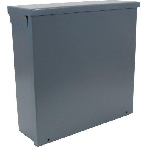 Orbit 18188R Steel Enclosure, NEMA 3R Outdoor w/Screw Cover - 18'' x 18'' x 8''