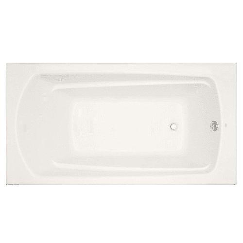 Mirabelle MIRBDS6032 Bradenton 60″ X 32″ Drop-In Soaking Tub with Reversible Dra, Bi ...