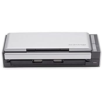 Fujitsu ScanSnap S1300i Mobile Document Scanner for Mac and PC, Double-Sided Color Scanning with ADF