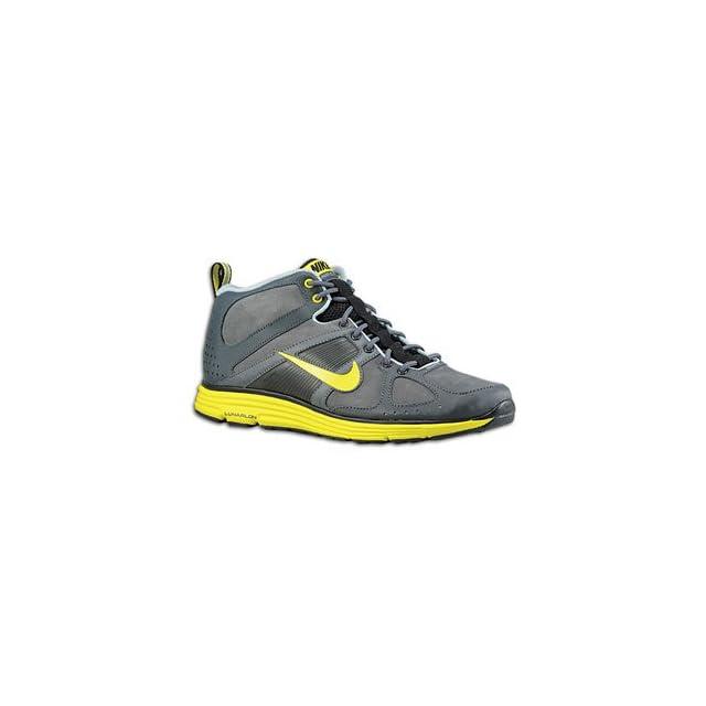 Nike Lunar Elite Trail Mens Running Shoes [454534 002] Dark Grey/High Voltage Anthracite Black Mens Shoes 454534 002 Shoes