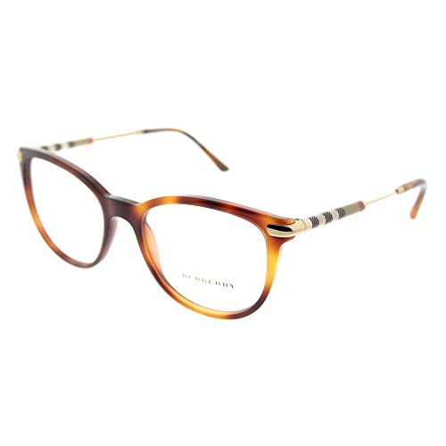 Burberry Women's BE2255Q Eyeglasses Light Havana ()
