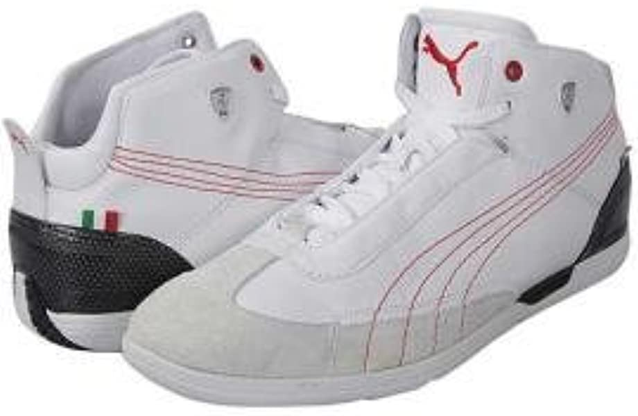 Brand New Puma Driving Power Mid Sf Trainers Boots UK 8 9