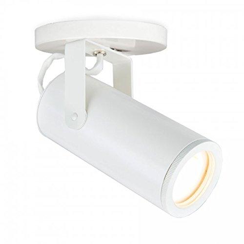 WAC Lighting MO-2020-940-WT Silo X20 LED Monopoint, White, White ()