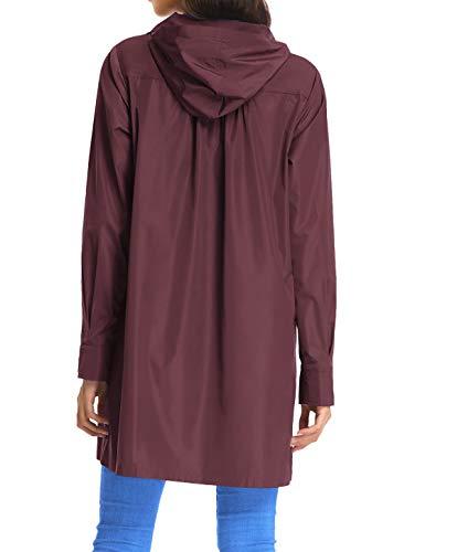 Buy purple jacket with hood