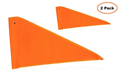 (Aces Racing Orange Replacement Safety Flag for LED Whips and Fiberglass Poles )