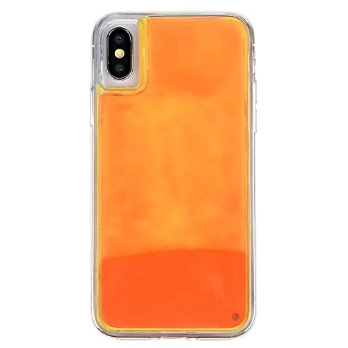 Fluorescent Quicksand Phone Case Protector para iPhone iPhone X/XS/XR/XS MAX