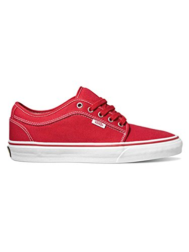 Vans Chukka Low, Herren Sneakers red/khaki/white
