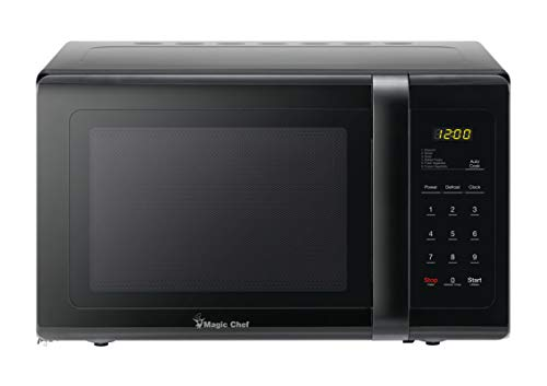 (Magic Chef MCD993B 0.9 Cubic-ft Countertop Microwave (Black))