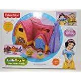 Little People Disneys Snow White Cottage with Snow White and Dopey Figures