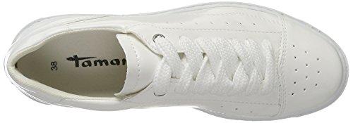 Tamaris Damen 23672 Sneaker Weiß (White Patent)