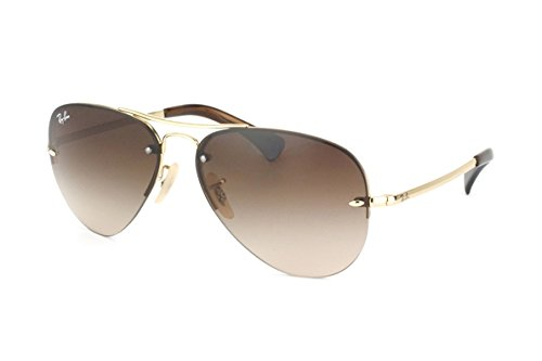 Ray-Ban RB3449 - ARISTA Frame BROWN GRADIENT Lenses 59mm Non-Polarized