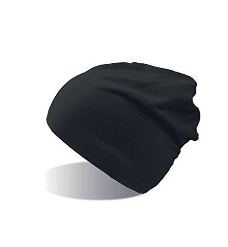 Flasch Lungo Winter Jersey Beanie Long Black Mujer Capas de Gorro Algodón Hombre de y Gorro Invierno 2 qZg5An5O