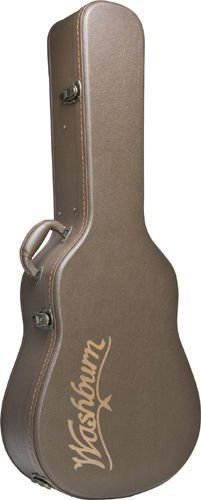Washburn GCJDLX6 Deluxe Hardshell Case for Jumbo Size 6 String Guitars by Washburn