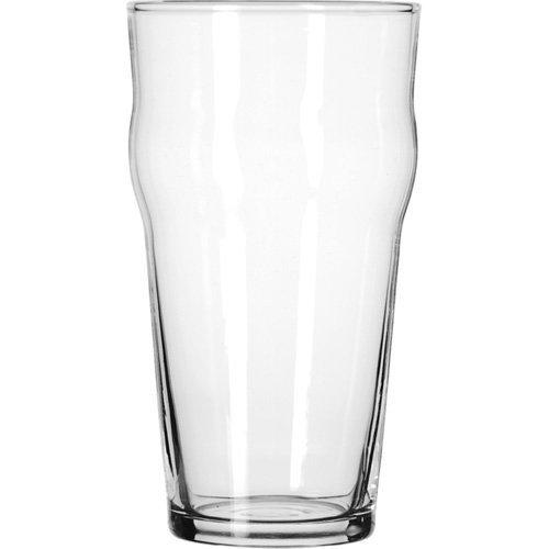 Libbey Glassware (14806HT) - 16 oz English Pub Glass - Heat Treated