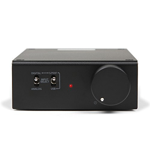 Buy Discount Micca OriGain Compact Stereo Integrated Amplifier and DAC, 50W x 2, 96kHz/24-Bit, USB a...