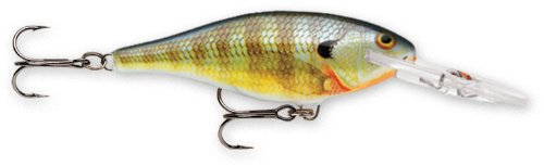 Rapala Shad Rap 6 Fishing Lure, Bluegill, 2-1/2-Inch