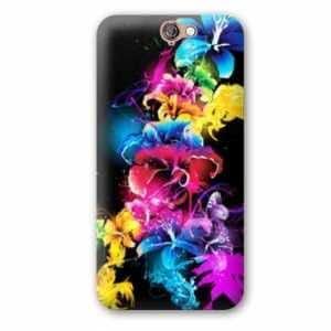 Amazon.com: Case Carcasa HTC One A9 fleurs - - etincelante N ...