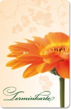 Sauna Spa Terminkarten 100 St/ück Terminkarte90/° f/ür Massage