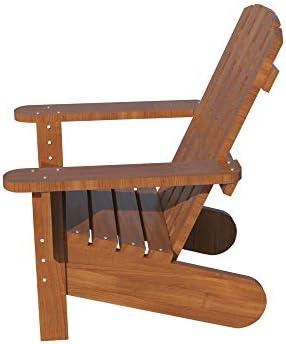 Adirondack Chair Plans DIY Patio Lawn Deck Garden Furniture Stool