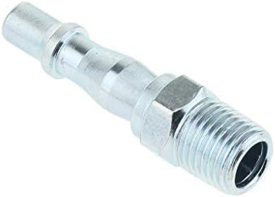 真鍮プラグ エアホースプラグ クイックカプラー エアホースコネクター 接続継手 ホース継手 1/4インチ