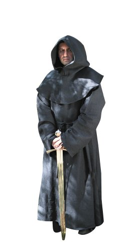 Museum Replicas Monk's Robe Black -