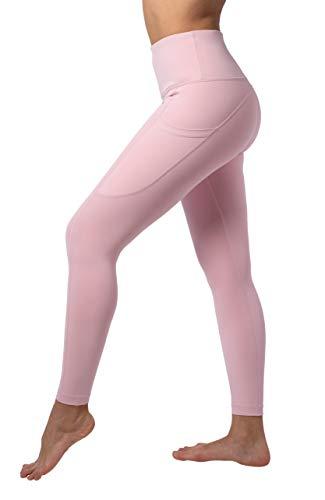 Reflex High Waist Squat-Proof 7/8 Length Leggings with Curved Back Yoke Seam - Shadow Petal - XL
