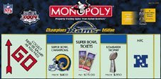 - Monopoly St. Louis Rams Super Bowl XXXIV Edition