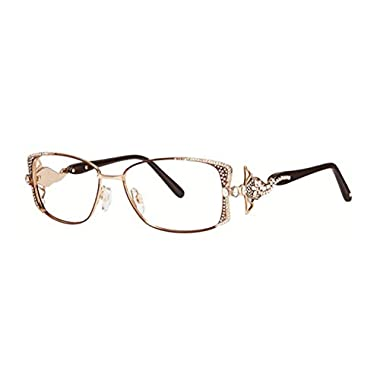 bd403df3216b Caviar 5626 Eyeglasses C16 Brown Gold Frames Authentic Brand New