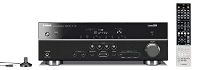 Yamaha RX-V467BL 525-Watt 5.1 Channel AV Receiver (OLD VERSION) (Discontinued by Manufacturer)