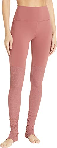 ALO Women's High Waisted Goddess Leggings Rosewood X-Small 33 by ALO Sport (Image #3)