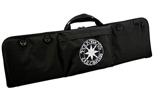 "Dulcimer Carrying Case, Embroidered With""FolkRoots Dulcimers"" Logo"