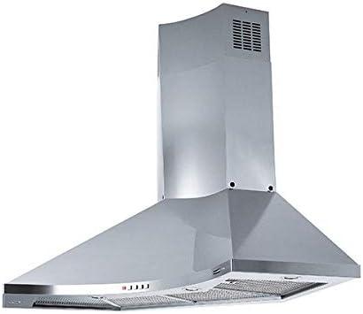 Franke – Campana extractora con ángulo fdpa 904 XS LED acabado inoxidable satinado de 90 x 90 cm: Amazon.es: Grandes electrodomésticos
