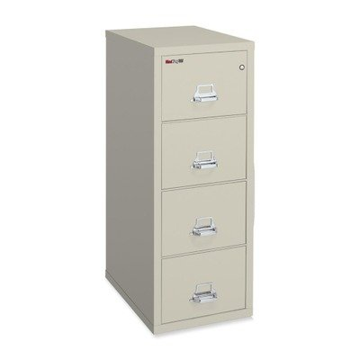 Fireproof Four Drawer Letter Size Vertical File 25