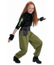 Child Kim Possible Agent Costume - Small 4-6