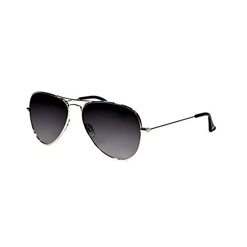 Polarized  Aviator Sunglasses with Hard Case and Micro Fiber Wipe - Aviator Sunglasses Logo