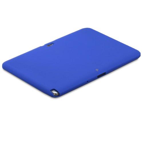 Fosmon JEL Series Soft Silicone Skin Case for Samsung Galaxy Note 10.1 Tablet - Dark Blue