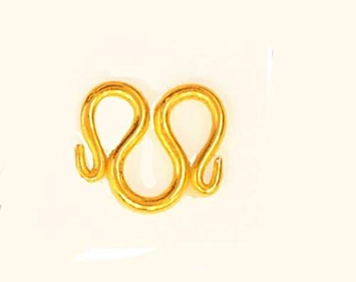 (22K 24K THAI BAHT GOLD PLATED CLASP M Size 14 MM FOR)