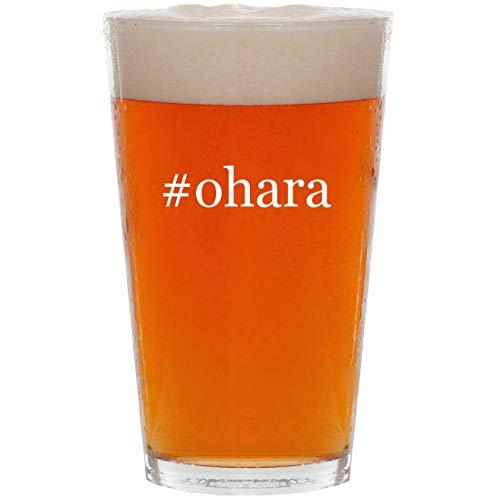 #ohara - 16oz Hashtag Pint Beer Glass