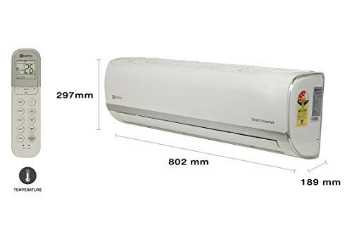 Koryo 1 Ton 3 Star Split Inverter AC (ISKSIAO2012A3S INS12, Copper Condenser, White)