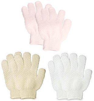 Bath Accessories Bathing Gloves, Beige