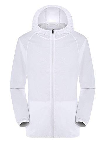 Incappucciato Lunga Donna Giacca Eleganti Casuale Di Protezione Jacket Solare Uv Marca Softshell Colori Manica Solidi Bianca Autunno Primaverile Moda Outdoor Mode Cappotto Xq4qOg