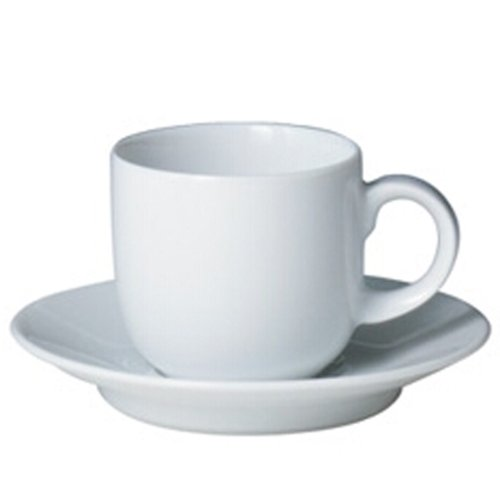 - Denby White Coffee Cup