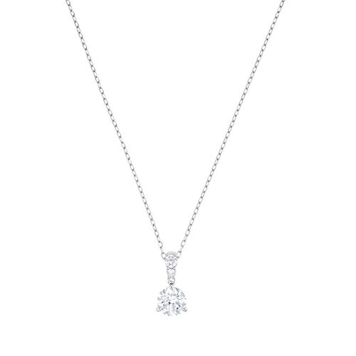 SWAROVSKI Women's Solitaire Crystal Necklace and Earrings Jewelry Collection
