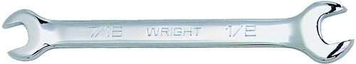 Wright Tool 1341 Full Polish Open End Wrench, 1-1/16'' x 1-1/4''