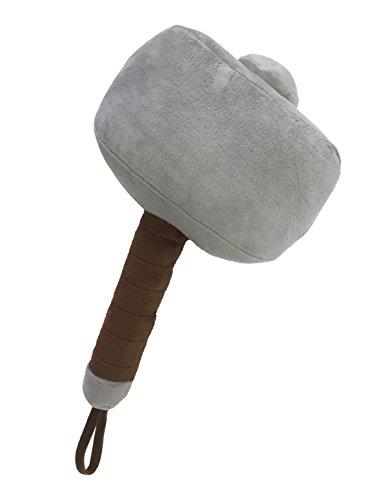 Marvel Thor Hammer Mjolnir Plush Pillow Buddy (Inflatable Throw Pillow)